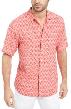 Tommy Bahama Men's Palms Away Geo-Print Shirt