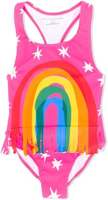 Stella McCartney Rainbow Print Swimsuit
