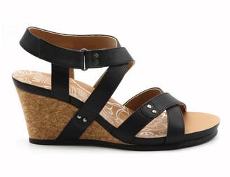 Adrienne Vittadini Tisha Strappy Wedge Sandal