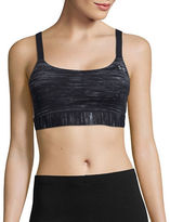 Under Armour Medium Support Armour Shape Printed Sports Bra
