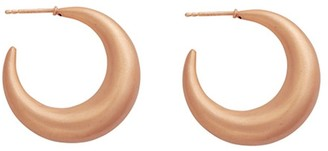 Carousel Jewels Rose Gold Large Hoops