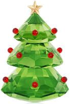 Swarovski Christmas Tree Figurine, Green