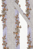 Suno Printed cotton shirt dress
