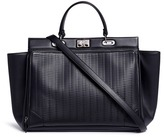 Rodo Basketweave effect leather tote