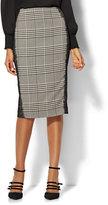 New York & Co. 7th Avenue Design Studio - Modern Fit - Glen Plaid Pencil Skirt
