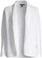 Eileen Fisher Organic Linen & Cotton Ribbed Kimono Cardigan