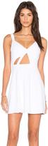 NBD x Naven Twins Trax Fit & Flare Dress