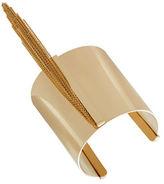 BCBGMAXAZRIA Chain-Link Fringe Cuff Bracelet