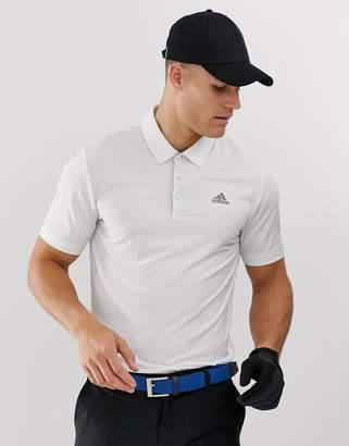 adidas Ultimate 365 polo shirt in white