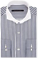Sean John Men's Classic/Regular Fit Navy Stripe Dress Shirt