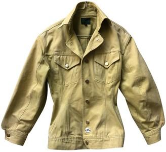 Jean Paul Gaultier Yellow Denim - Jeans Jackets