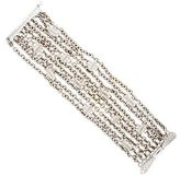 Paul Morelli 18K Diamond Leaf Multistrand Bracelet