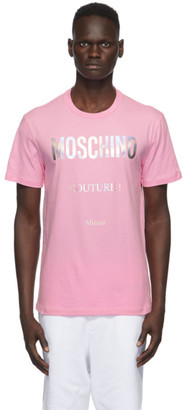 Moschino Pink Couture T-Shirt