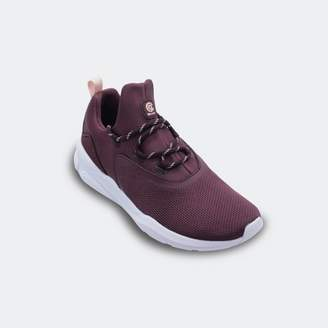 Champion Women's Exert Knit Athletic Sneakers Burgundy