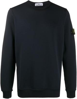 Stone Island Compass-Patch Sweatshirt