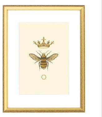 Emily Carter 'Honey Queen Bee' - Fine Art Print A4 Colour