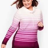 Talbots Gradient Stripe Pullover