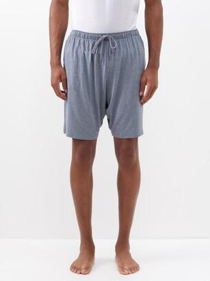 Derek Rose Marlowe Jersey Lounge Shorts - Grey