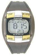 Freestyle Midsize FS81225 Huckfin Digital Black Polyurethane Strap Watch