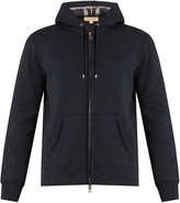 Burberry House-checked hooded sweatshirt