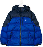Ralph Lauren two tone padded jacket