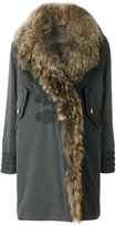 Bazar Deluxe fur trim coat