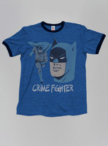 Junk Food Clothing Kids Boys Batman Crime Fighter Tee-lb/co-l