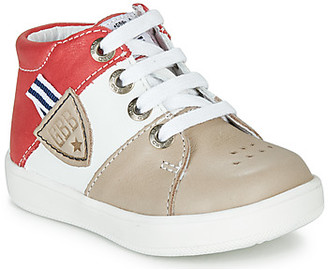 GBB AMOS boys's Shoes (High-top Trainers) in Beige