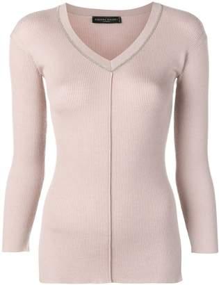 Fabiana Filippi fitted knit sweater
