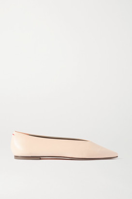 AEYDĒ Betty Leather Flats