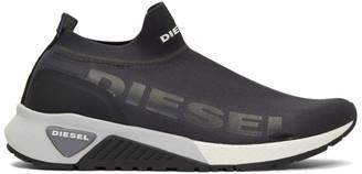 Diesel Black S-KB Athletic Sock II Sneakers
