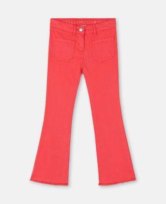 Stella Mccartney Kids Stella McCartney denim trousers