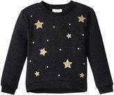 Kate Spade Star Sweatshirt (Toddler/Kid) - Charcoal Grey - 2