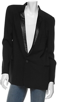 Chloe Lurex Collar Tux Jacket