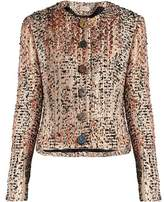 Christopher Kane Stone-embellished wool-blend tweed jacket