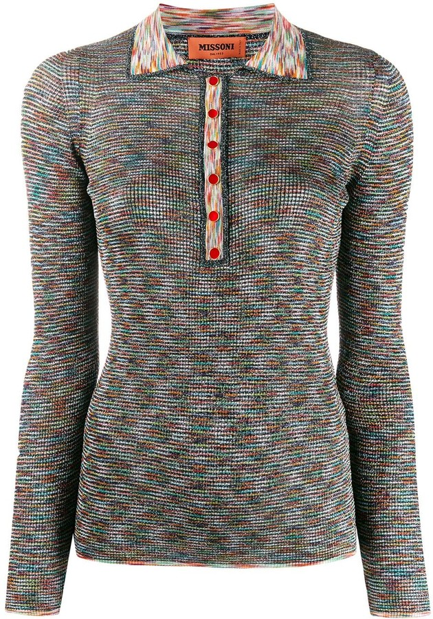 Missoni Glittery Knitted Top