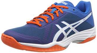 Asics Men's Volleyballschuh Gel-Tactic Volleyball Shoes, Blue (Blue Print/White 401)
