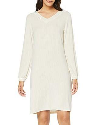 Lovable Women's Ivory Nightgown Nightie,Large