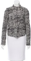 Proenza Schouler Tweed Asymmetrical Jacket