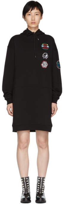 McQ Black Hoodie Dress