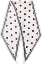 Massimo Alba polka dot Hockney scarf