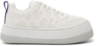 Eytys White Canvas Sonic Sneakers