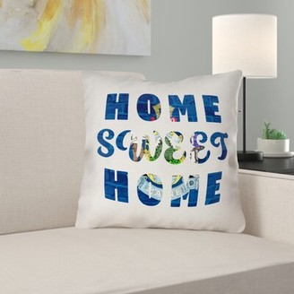 East Urban Home Home Sweet Maine Pillow East Urban Home