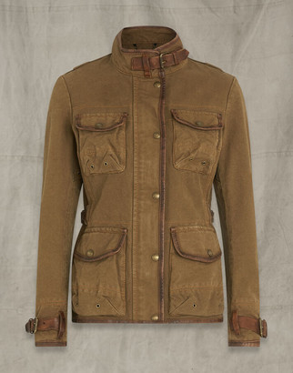 Belstaff Journey Jacket Brown UK 4 /