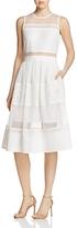 Aqua Tiered Lace Midi Dress - 100% Exclusive