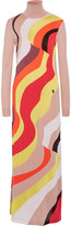 Emilio Pucci Wool-blend maxi dress