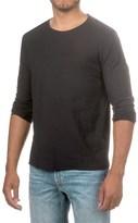 Michael Stars Slub Combo T-Shirt - Long Sleeve (For Men)
