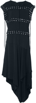 J.W.Anderson Fluid Tricotine Fluid Crepe Dress