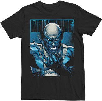 Wolverine Men's Marvel Claws Dark Poster Tee