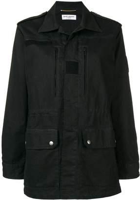 Saint Laurent military parka jacket